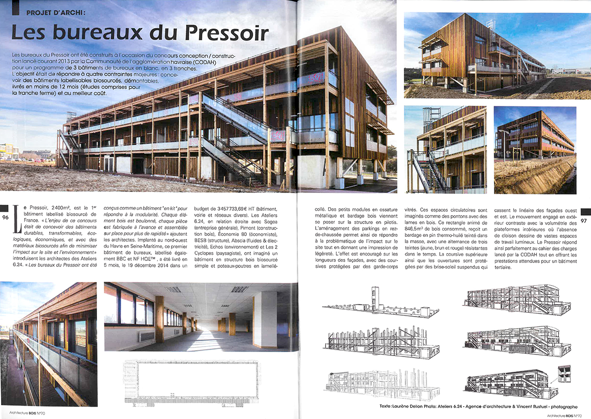 Revue de presse for Architecture bois