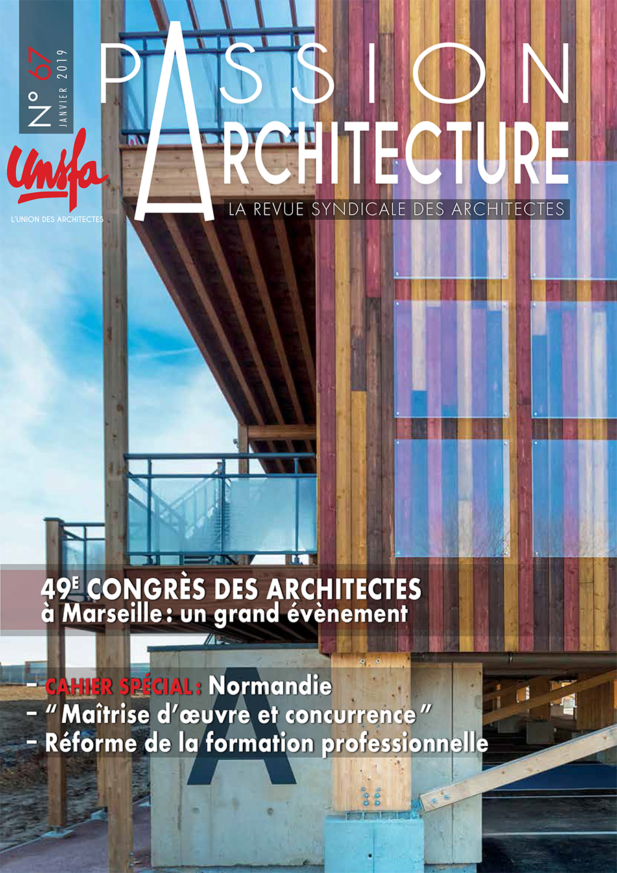 Passion Architecture, La revue syndicale des architectes, sur syndicat-architectes.fr