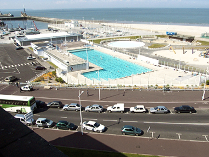 R f rences architecturales book portfolio for Piscine le havre